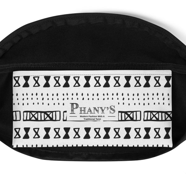 (EXHALE) MudCloth-Inspired Hand-Sewn Fanny Pack-Phany's