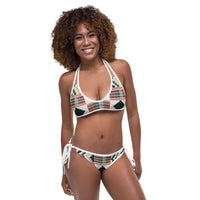 (DIAMOND) Kente-Inspired Hand-Sewn Luxury Bikini-Phany's