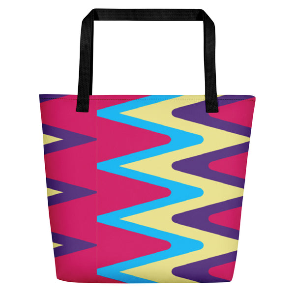 (LIFE) Kente-Inspired Luxury Tote Bate-Phany's