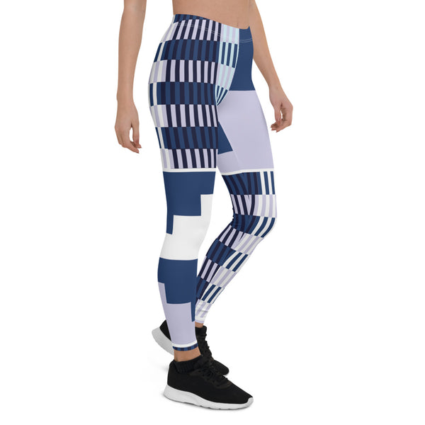 (BALANCE) Kente-Inspired Hand-Sewn 4-Way Stretch Leggings-Phany's