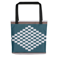 (DIAMOND) Diamond-shape Hand-sewn Kente-inspired Tote bag-Phany's