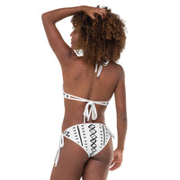 (EXHALE) MudCoth African-Inspired Irreversible Bikini-Phany's