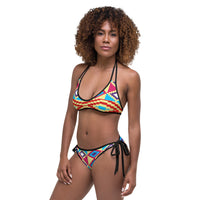 (LIFE) Kente-Inspired Hand-Sewn Luxury Bikini-Phany's