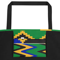 (POWER) Kente-Inspired Luxury Boho-Style Tote Bag-Phany's