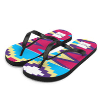 (LIFE) Kente-Inspired Durable Summer Flip-Flops Slippers-Phany's