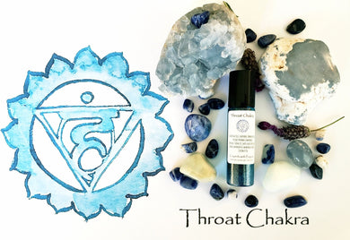 Throat Chakra Essential Oil