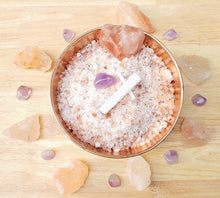 Load image into Gallery viewer, Sleep Tight Bath Salts: Amethyst, Selenite, Lavender, Chamomile