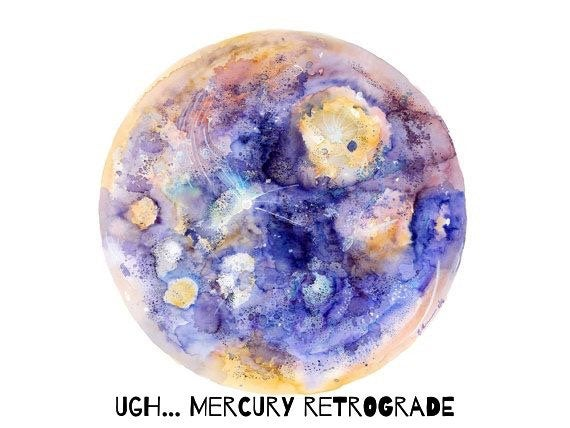 Mercury Retrograde Crystal Spray
