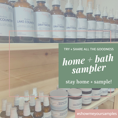 Home + Bath Sampler