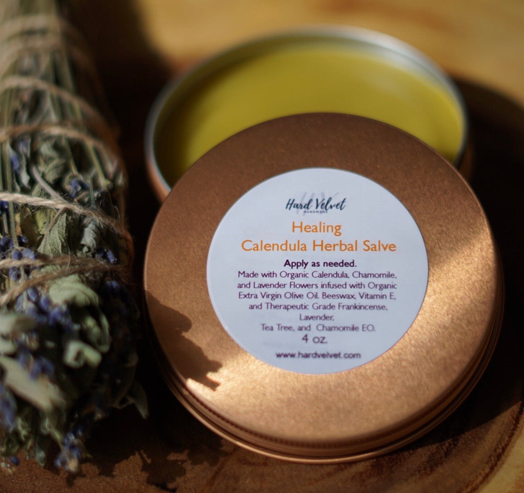 Healing Calendula Herbal Salve