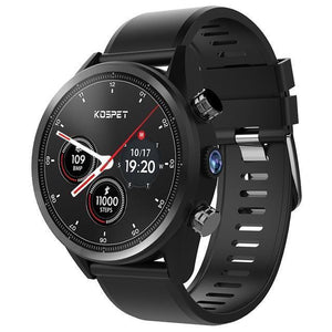 Kospet Hope 4G Smartwatch Phone Android 7.1 Quad Core 1.3GHz 3GB 32GB 8.0MP Camera IP67 BT V4.0 Waterproof Smart Watch for Men