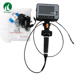 DR4540F Handheld  Industry Endoscope 3.9mm 90 degrees Camera Four Direction Operating Rod Control and Guide Bearing