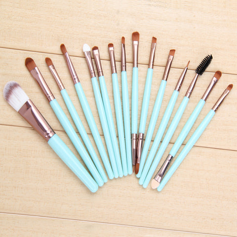 4/15pcs Makeup brushes Professional Eyebrow Blusher Lip Powder Foundation Eyeshadow Eyeliner Cosmetic Make up Brush Set Maquiage