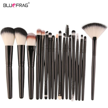 Full Professional Makeup Kit Set Makeup Brushes Tools Powder Foundation Blush Eye Shadow Blending Beauty Make Up Brush 18 /15Pcs