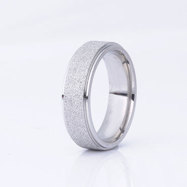 Titanium Frosted Rings