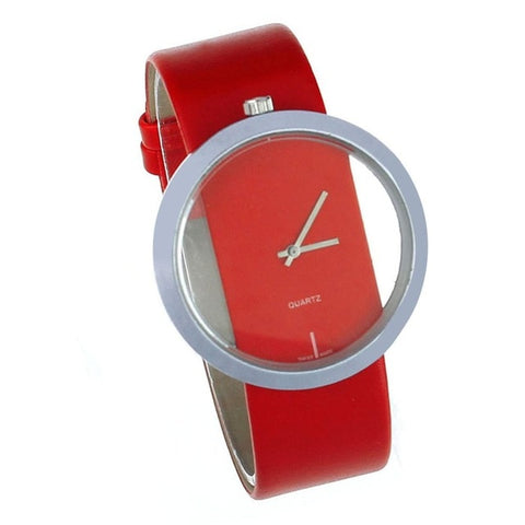 Ladies Watch relojes mujer 2018 Simple Wrist Quartz Watches Women PU Leather Montre Femme Women's Watch Clock