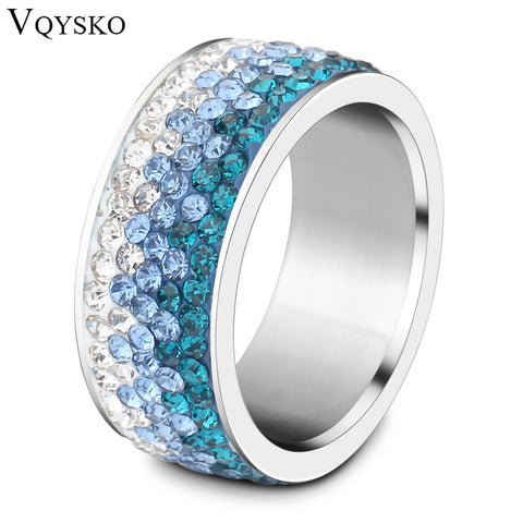 Crystal Jewelry Ring