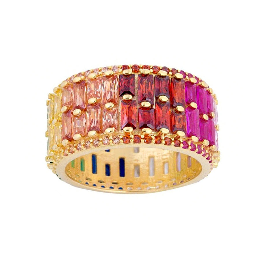 Rainbow Baguette Cigar Band - Lolita Be Mine