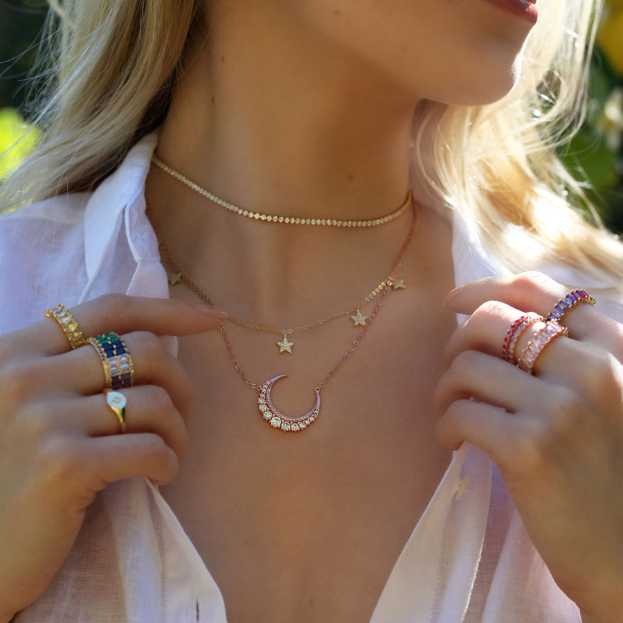 Luxe Tennis Choker - Lolita Be Mine