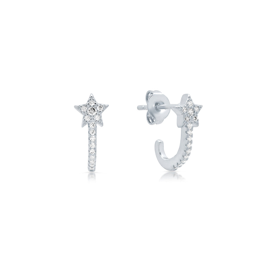 Shooting Star Huggy Studs - Lolita Be Mine