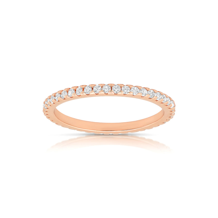 Micropavé Eternity Band - Lolita Be Mine