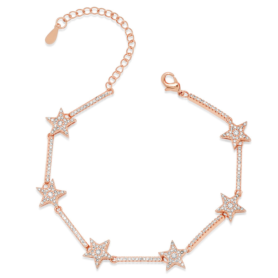 Star Tennis Bracelet - Lolita Be Mine