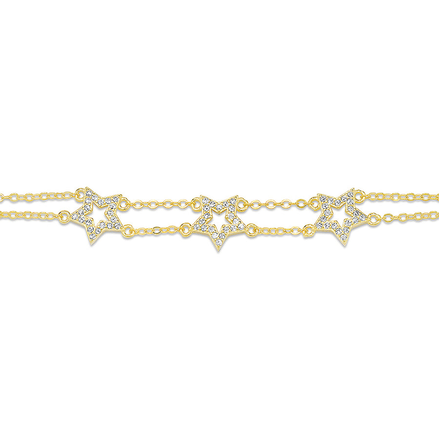 Triple Star Bracelet - Lolita Be Mine
