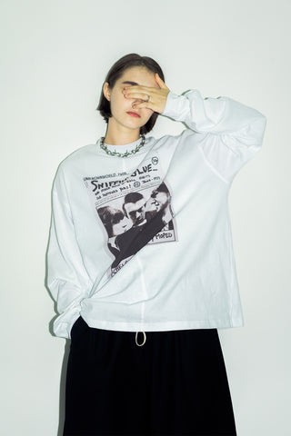 UNKNOWNWORLD FW18 Sniffin'Glue Punk element sweater