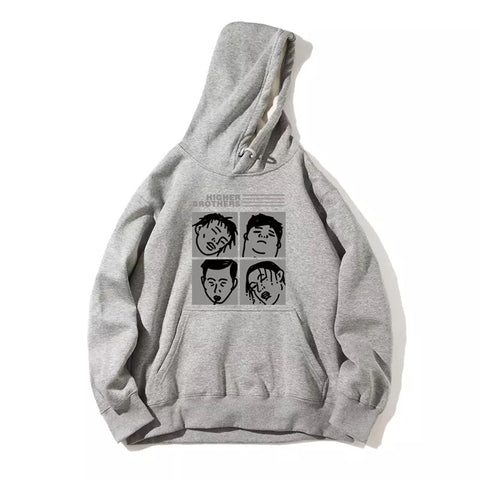 """Higher Brother"" Rapper clubhouse sweater"