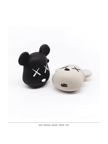 Bearbrick Air pods protection shell