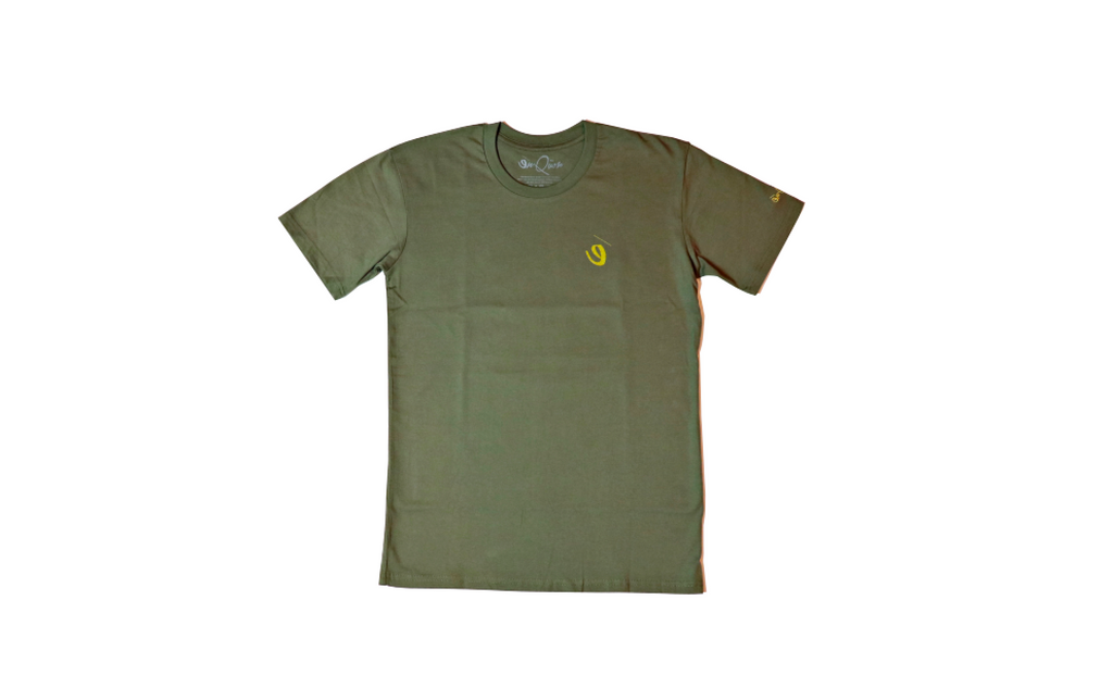 Stained Glass Tee (Army green)