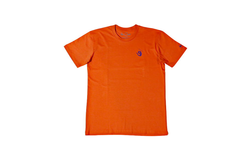 Stained Glass Tee (tangerine)