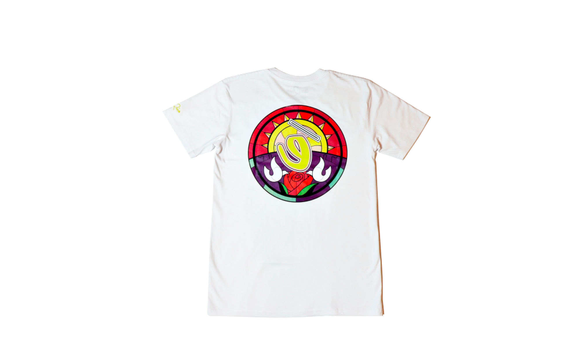 Stained Glass Tee (white)