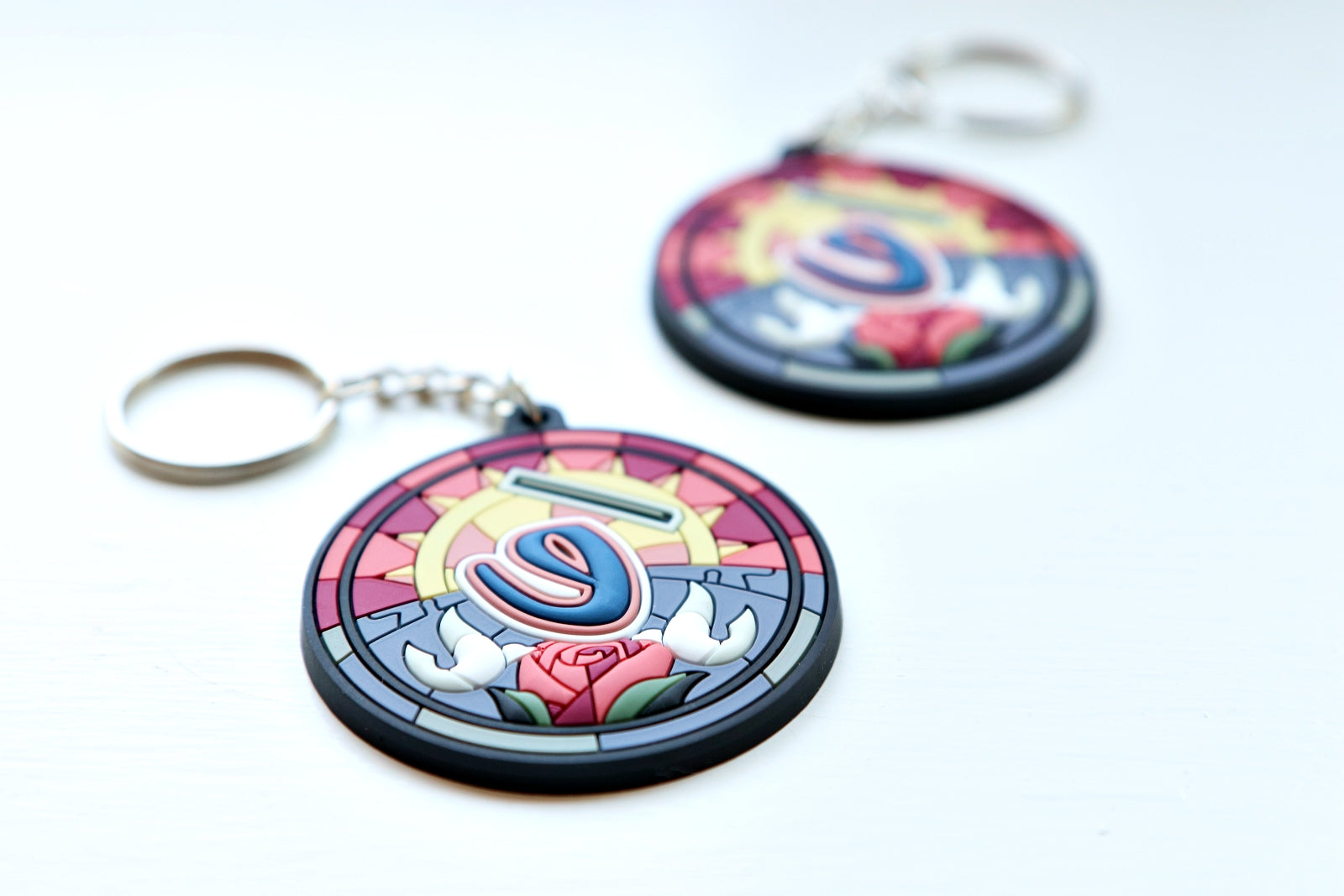"""Stained Glass"" Key Chain"