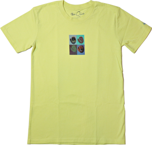Work of Art Tee (Lemon)