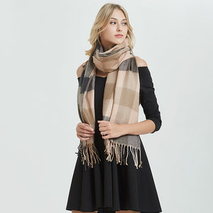 Caramel Collection Cashmere Scarf