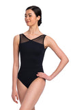 AinslieWear Lennon Leotard with Mesh 1100ME