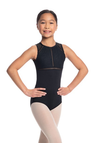 Girls Coco Leotard with Lola Lace
