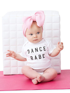 Ford And Wyatt Dance Babe Short Sleeve Onesie - Baby