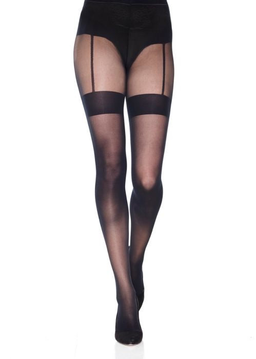 Mondor Garter Belt Effect Tights