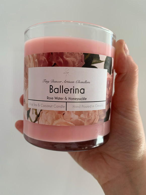 Ballerina Candle By Tiny Dancer Artisan