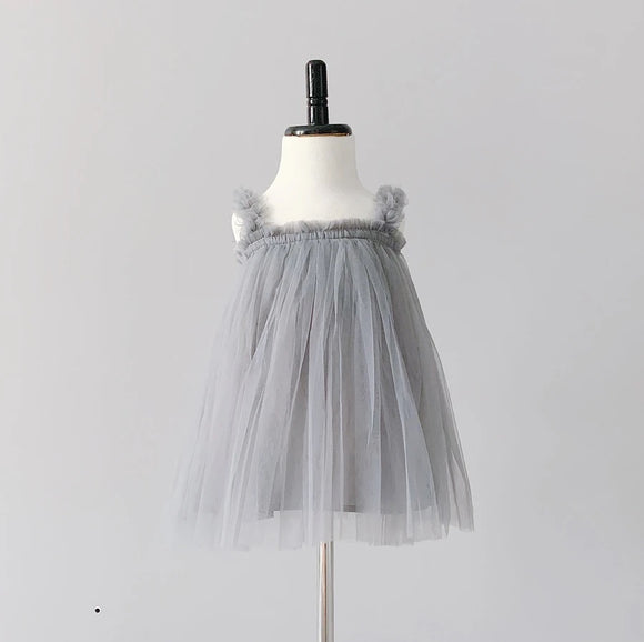 Baby Avery Tutu Dress by Bluish - Grey