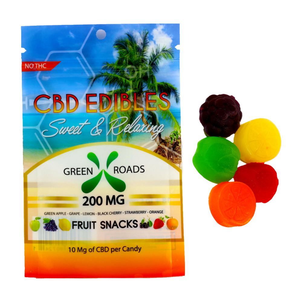 Green Roads World CBD Fruit Bites 200 mg-Lift Gift