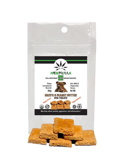 Hempzilla CBD Pet Treats - 5pack-Pets-Lift Gift
