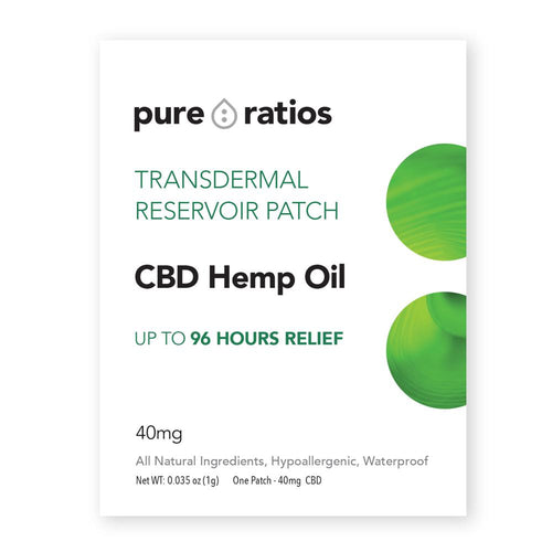 Pure Ratios CBD Topical Hemp Patch-Lift Gift