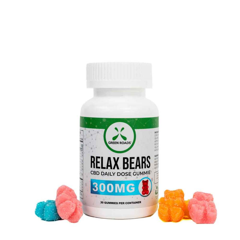 Green Roads World CBD Gummy Bears 300mg-Lift Gift