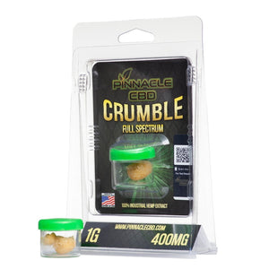 Pinnacle Hemp CBD Crumble 400mg/1gram-Lift Gift