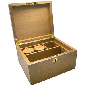 Hakuna Supply CBD - Signature Walnut Lock Box-Lift Gift