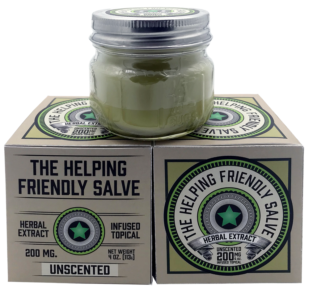 THE HELPING FRIENDLY SALVE - UNSCENTED - 200MG HERBAL EXTRACT TOPICAL-Lift Gift