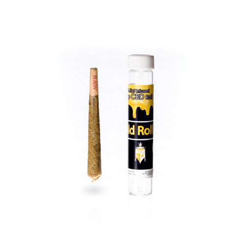 CBDAxis Gold Line Hemp + Kief + Oil Rolls-Lift Gift